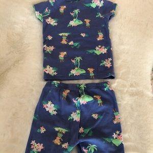 Carters infant girls pajama set